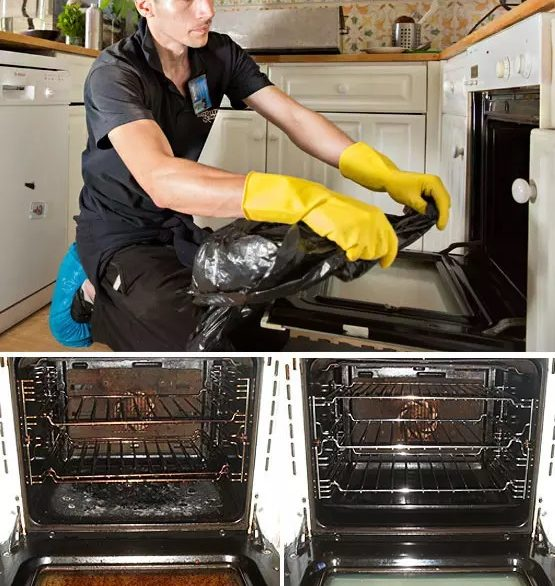 fantastic services woman cleaning