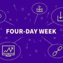 Four day week graphic