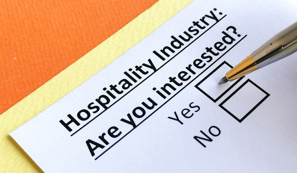 hospitality industry questionnaire